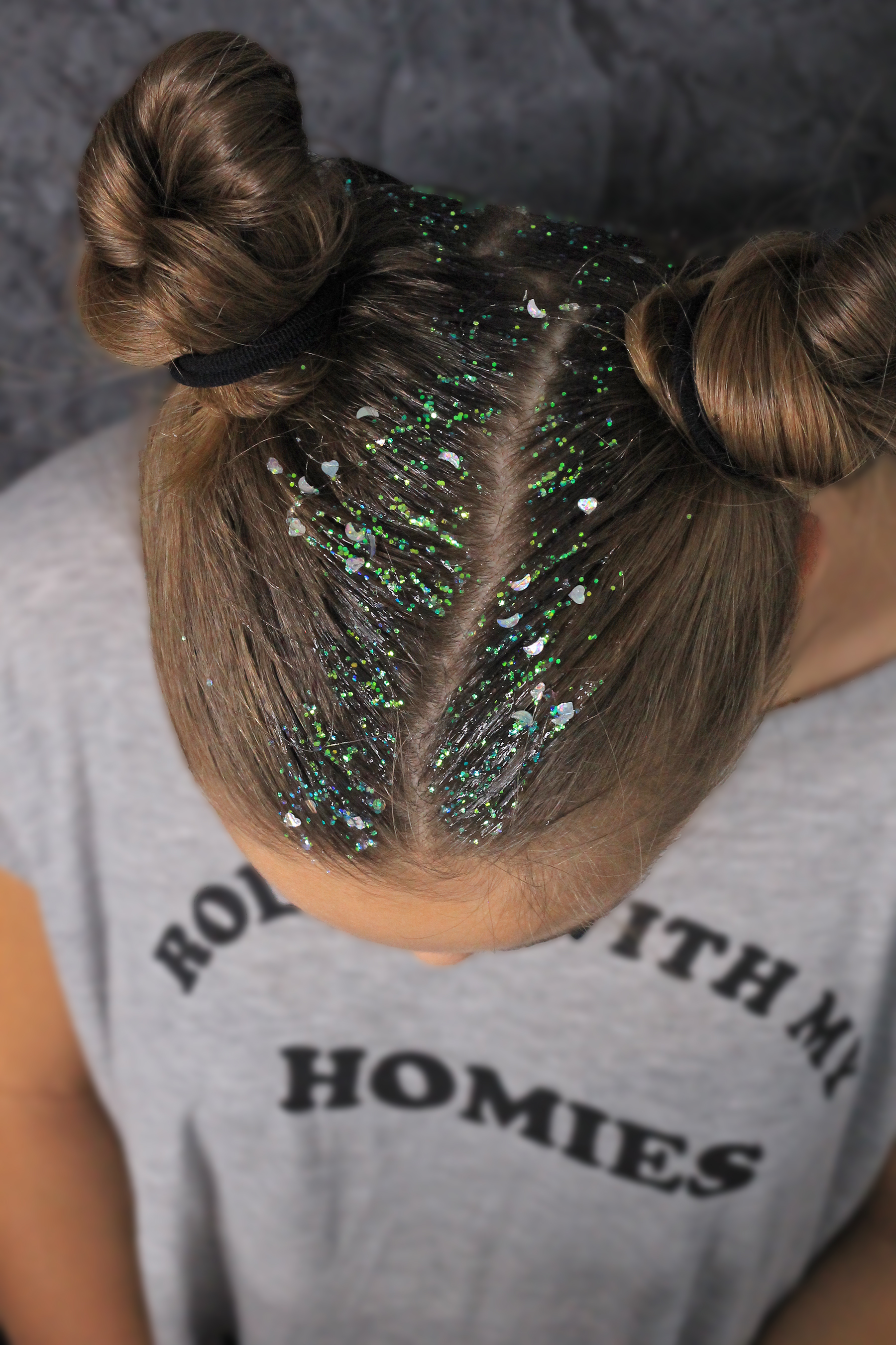 Who's That Girl Glitter Roots