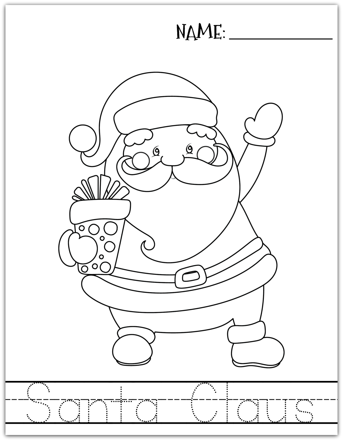 Christmas Learning Printables