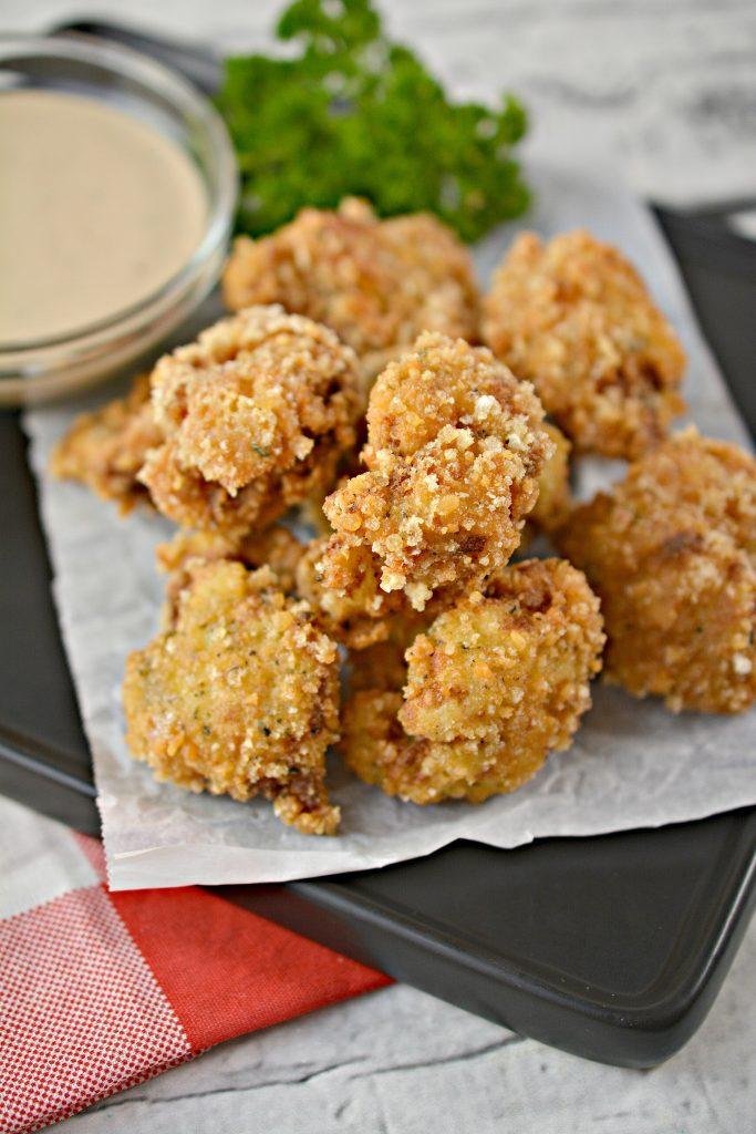 Crispy Keto Cauliflower Bites