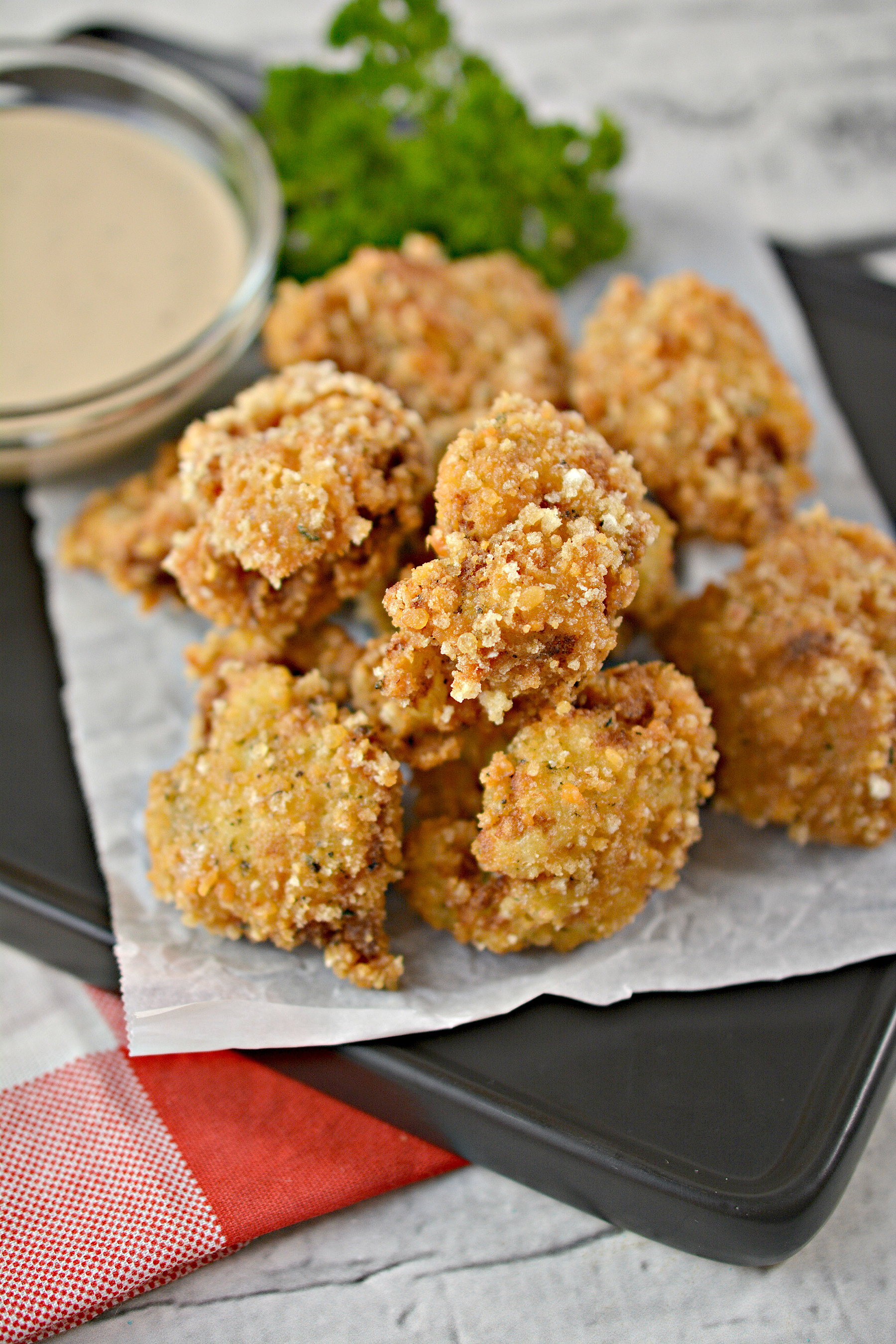 Keto Cauliflower Bites