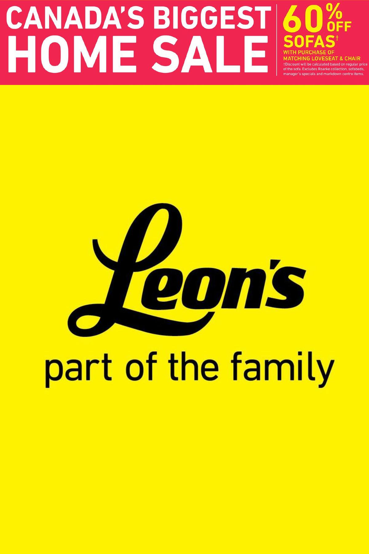 Leon's Half Price Sale