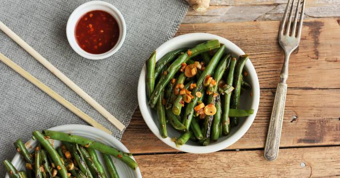 Whole30 + Paleo Green Beans {Whole30, Paleo, Vegan}