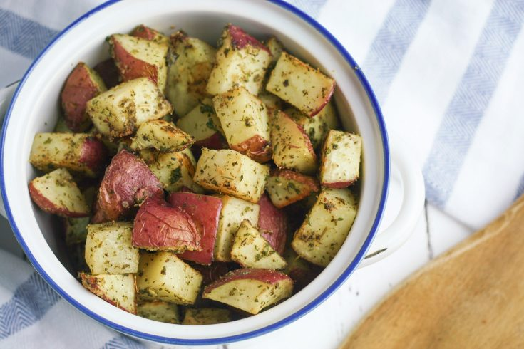 Italian Herb Roasted Potatoes