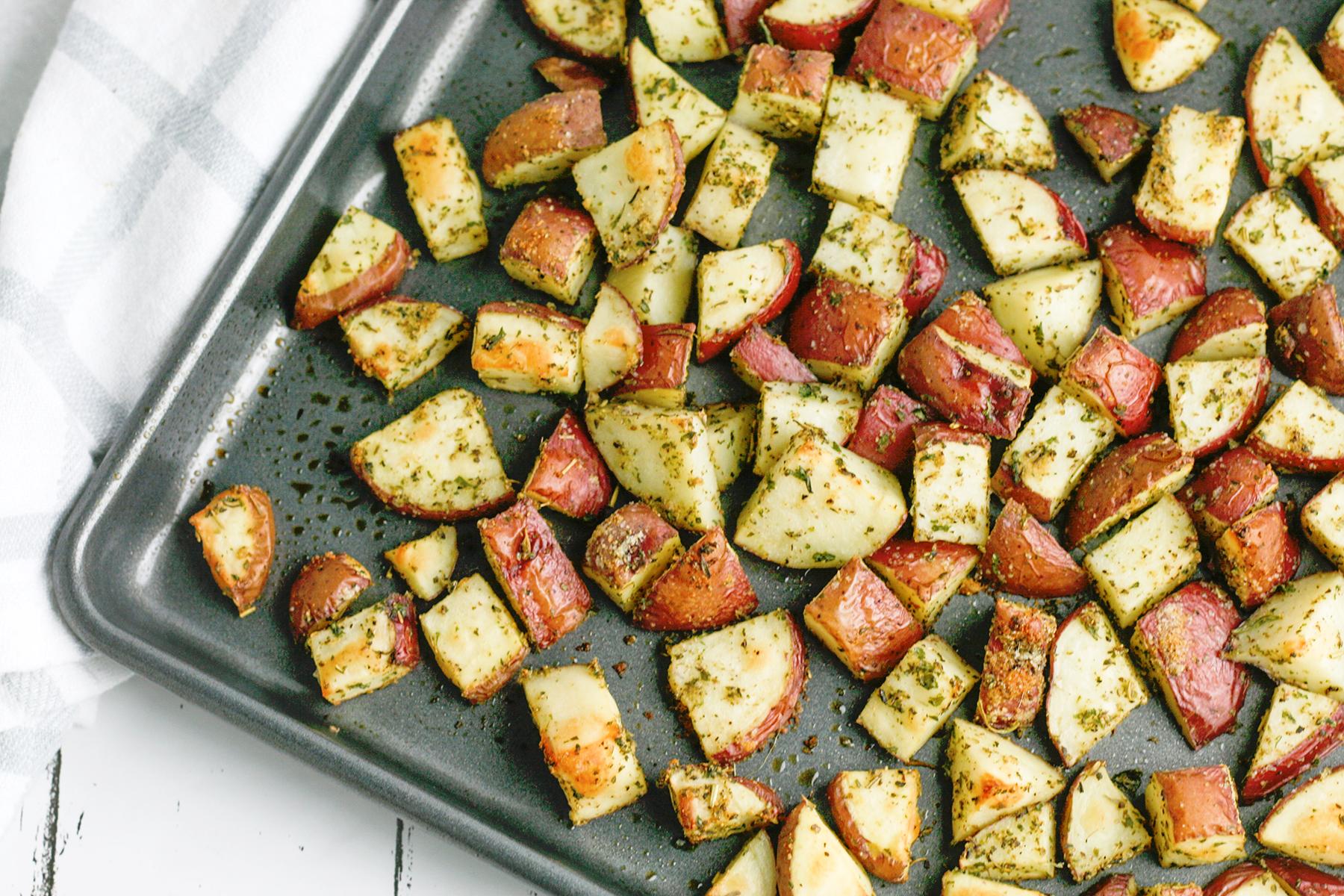 Italian Herb Roasted Potatoes