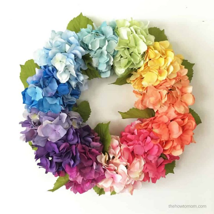 How to Make a Hydrangea Wreath - Easy!