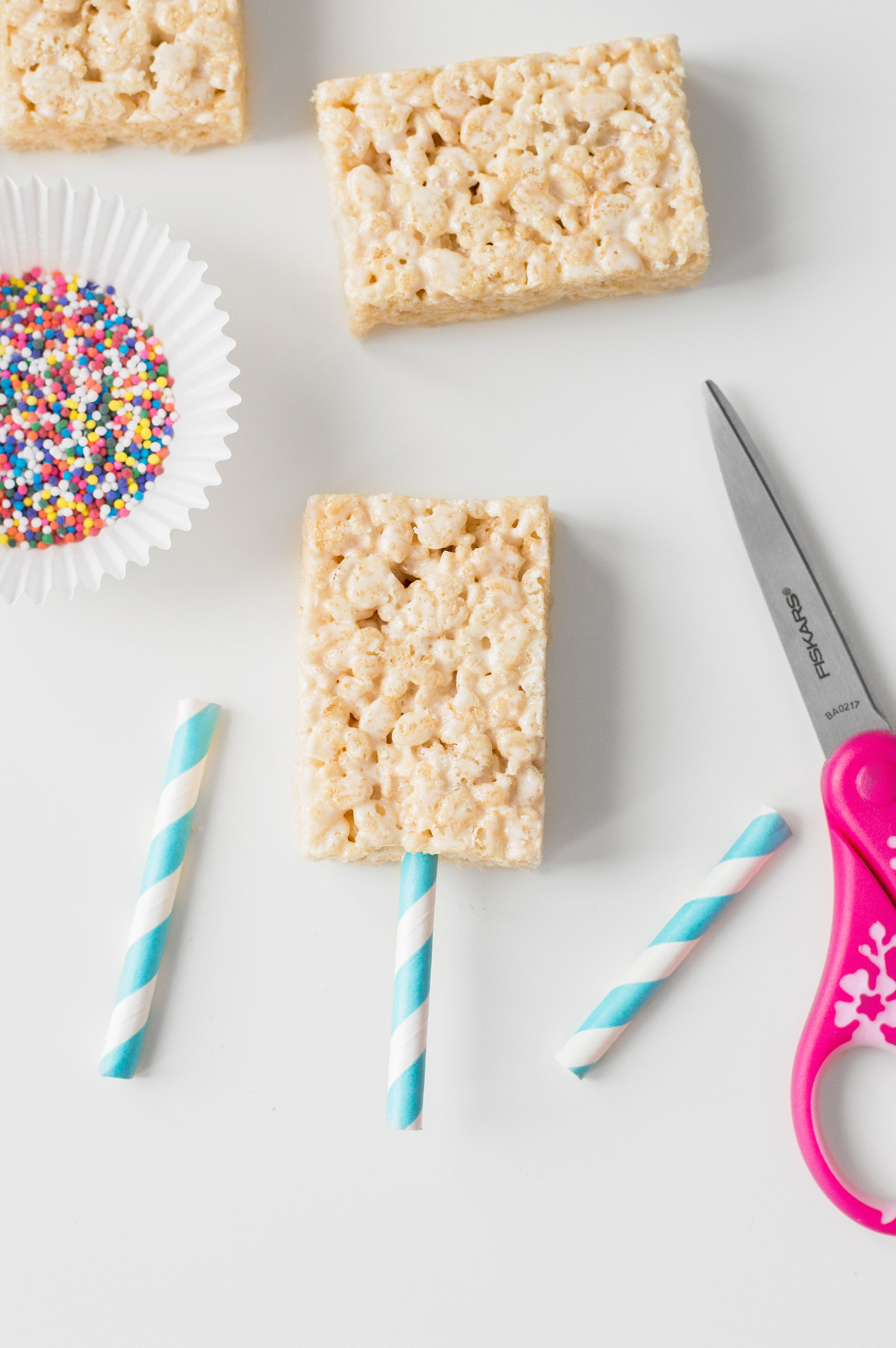 Popsicle Rice Krispies Treats