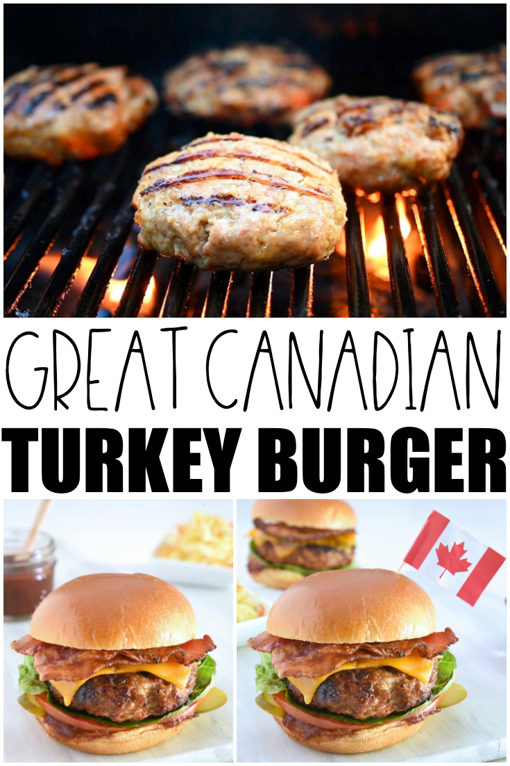 Great Canadian Turkey Burger