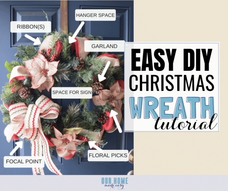 How to Make Your Own Pinterest Worthy Christmas Wreath!