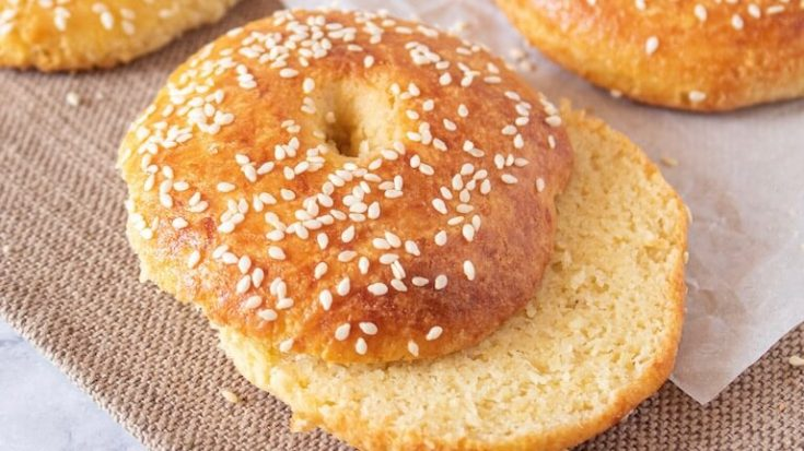 Best Low Carb Keto Sesame Bagel Recipe With Almond Flour