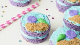 Mermaid Mini Cakes