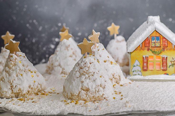 Coconut Christmas Tree Cookie Recipe (gluten free)