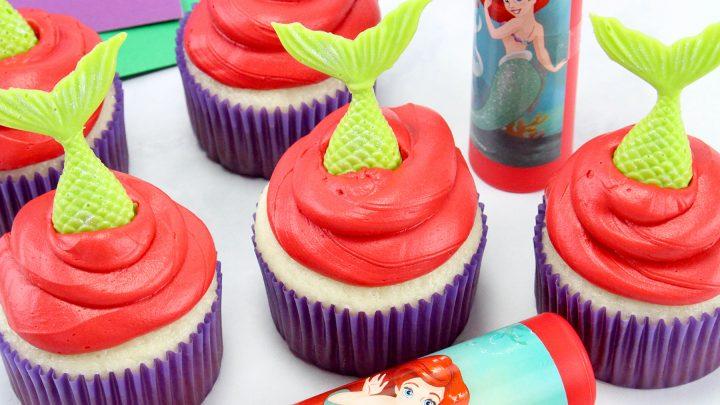 The Little Mermaid Cupcakes