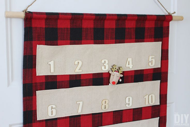 How to Sew a Fabric Advent Calendar with Pockets