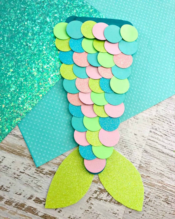 Easy Mermaid Tail Craft