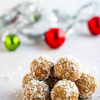 Healthy Snowball Cookies