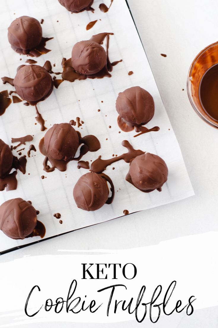 Keto Cookie Truffles