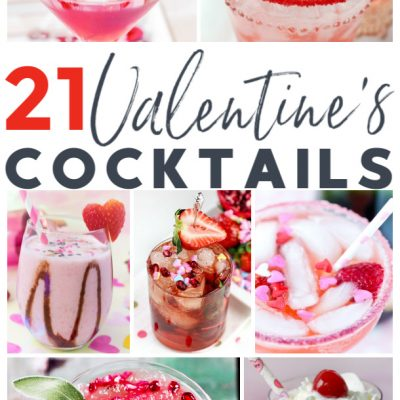 21 Yummy Valentine's Day Cocktails
