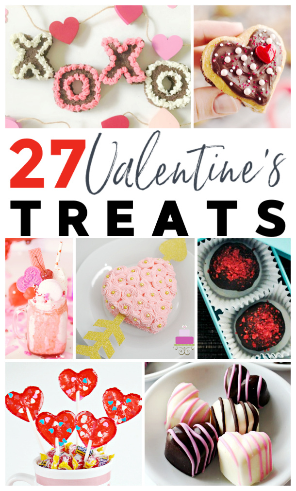 27 Sweet Valentine's Day Treats