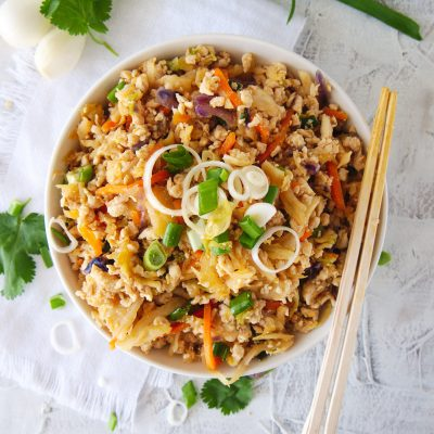 Chicken Egg Roll Bowl