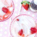 Strawberries and Champagne Margarita