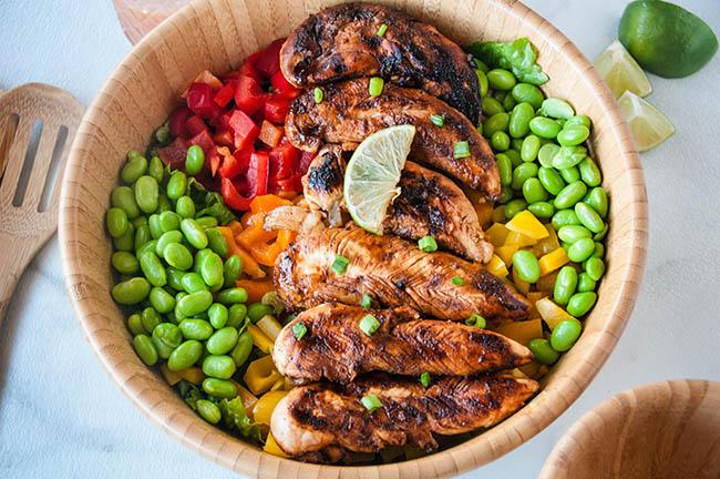 Siracha Lime Chicken Salad