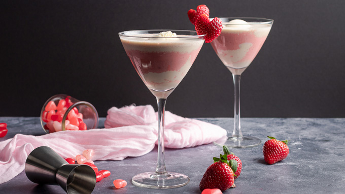 Strawberries & Cream Mudslide