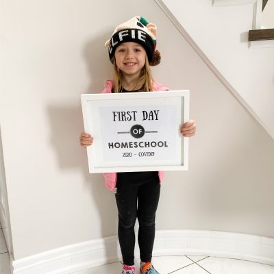 First Day Of Homeschool 2020 + Daily Schedule Printables