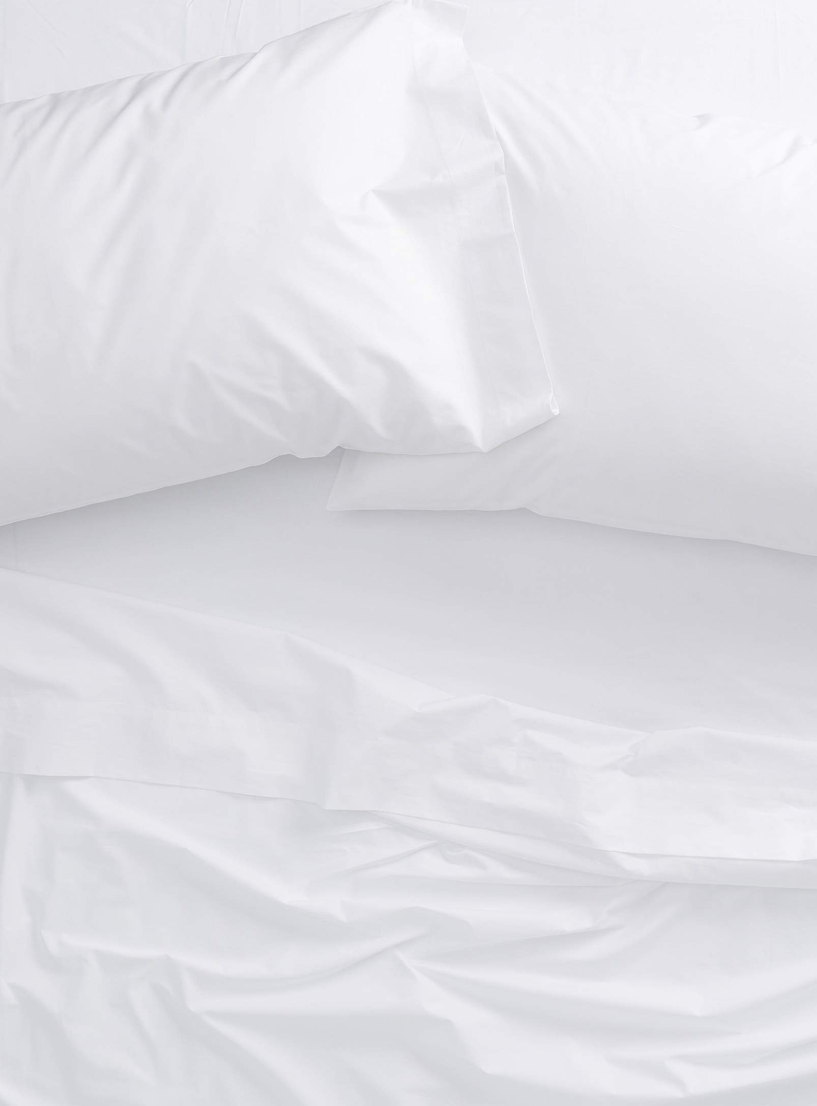 Simons - La Maison Simons Luxurious Percale Bed Sheets White