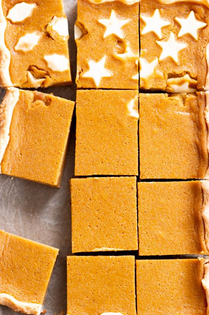 Gluten-Free Pumpkin Slab Pie