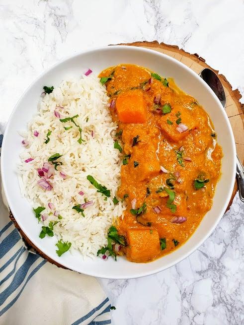 Thai Pumpkin Peanut Curry