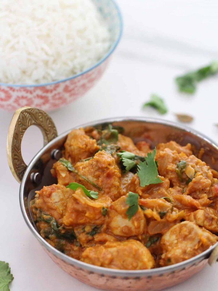Chicken and Pumpkin Curry