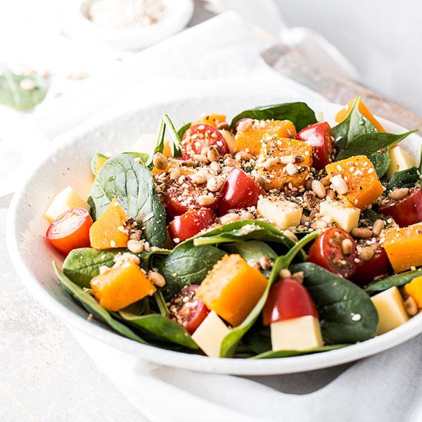 Pumpkin Salad with Dukkah