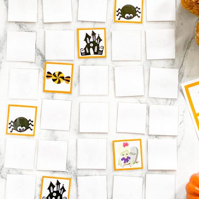 Halloween Memory Game – Free Printable