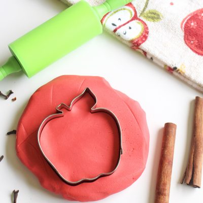Apple Cider Homemade Playdough