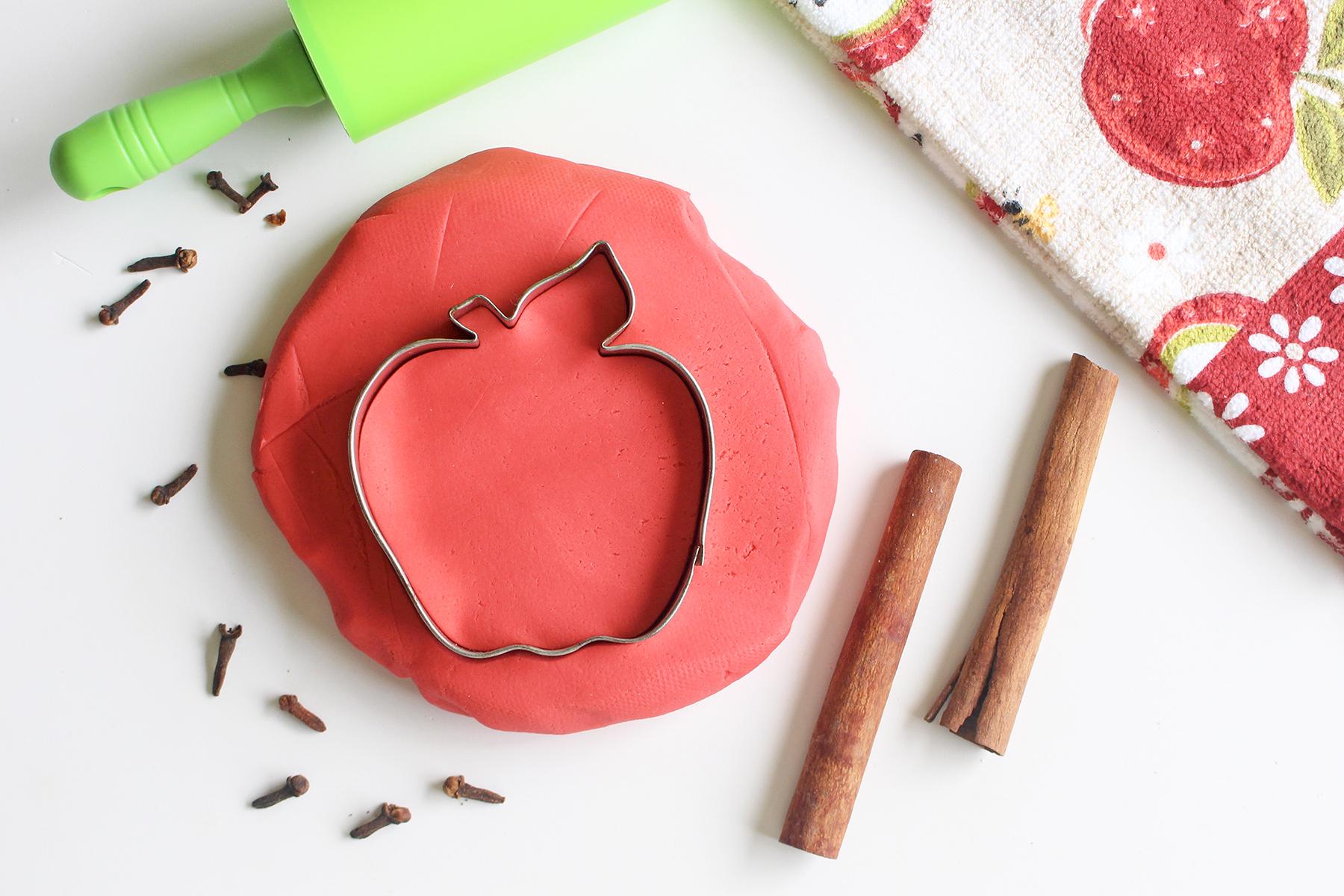 Apple Cider Homemade Playdough
