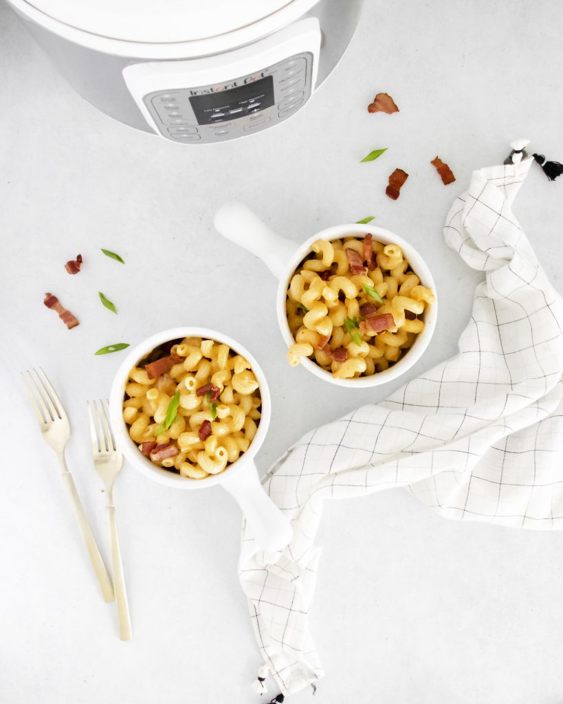 The Best Instant Pot Bacon Mac & Cheese