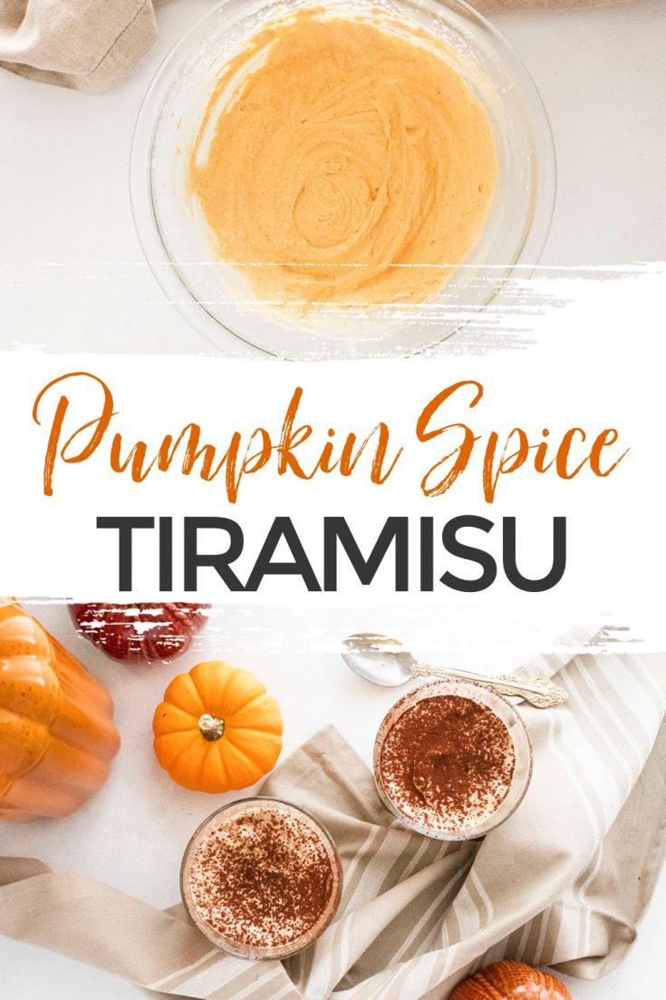 The Best Pumpkin Spice Tiramisu