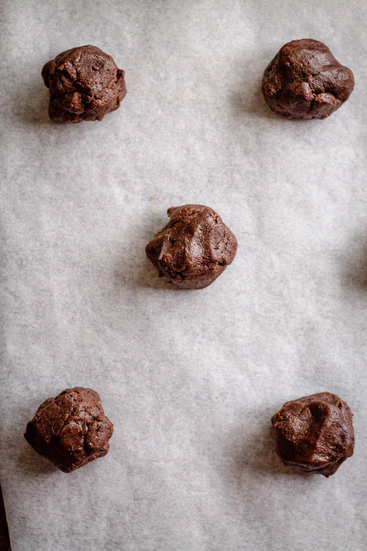 Chocolate Peppermint Christmas Cookies