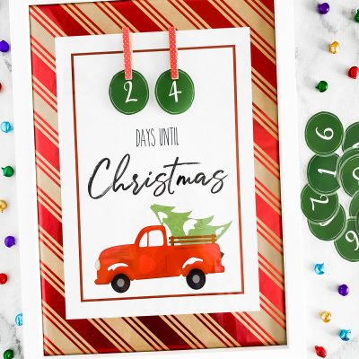 Christmas Countdown Free Printable