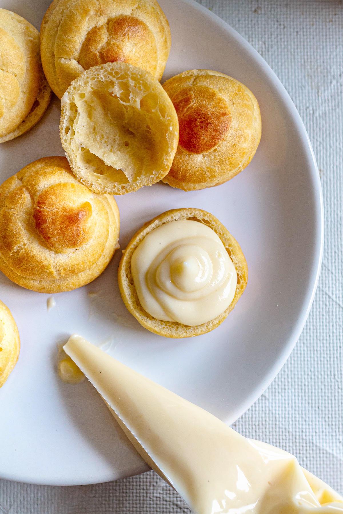 Cream Puffs - Profiterole Recipe
