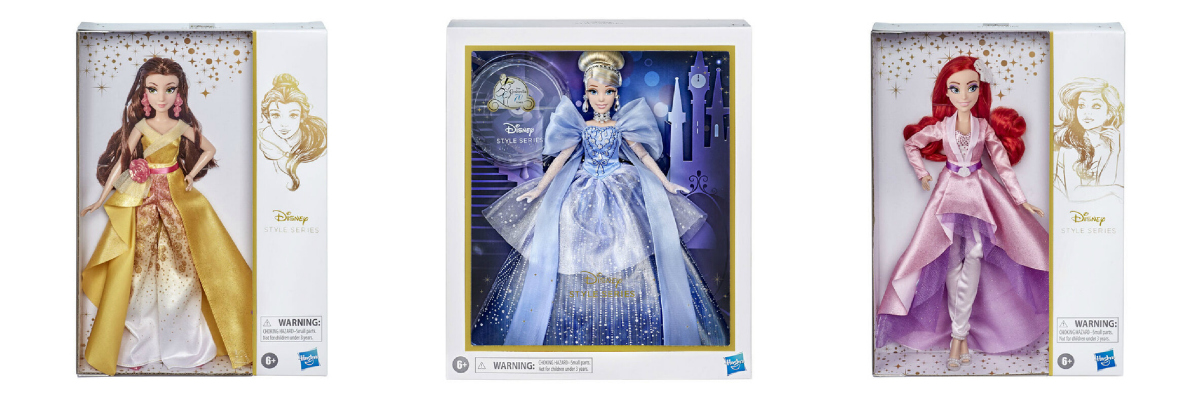 Disney Princess Style Series Fashion Dolls