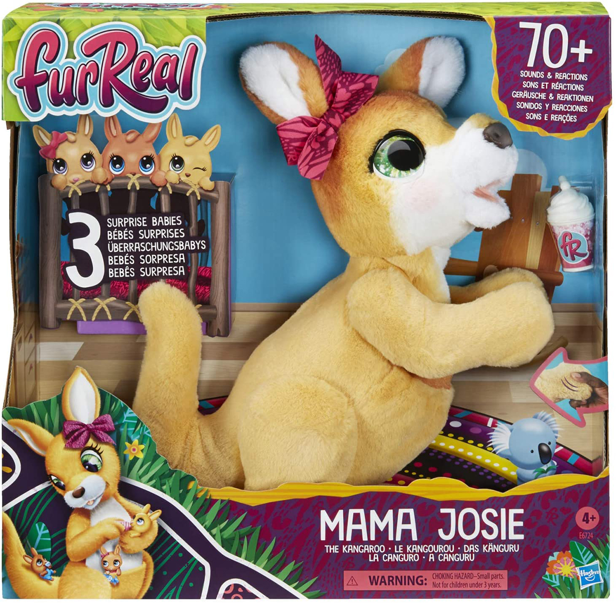 furReal Mama Josie the Kangaroo