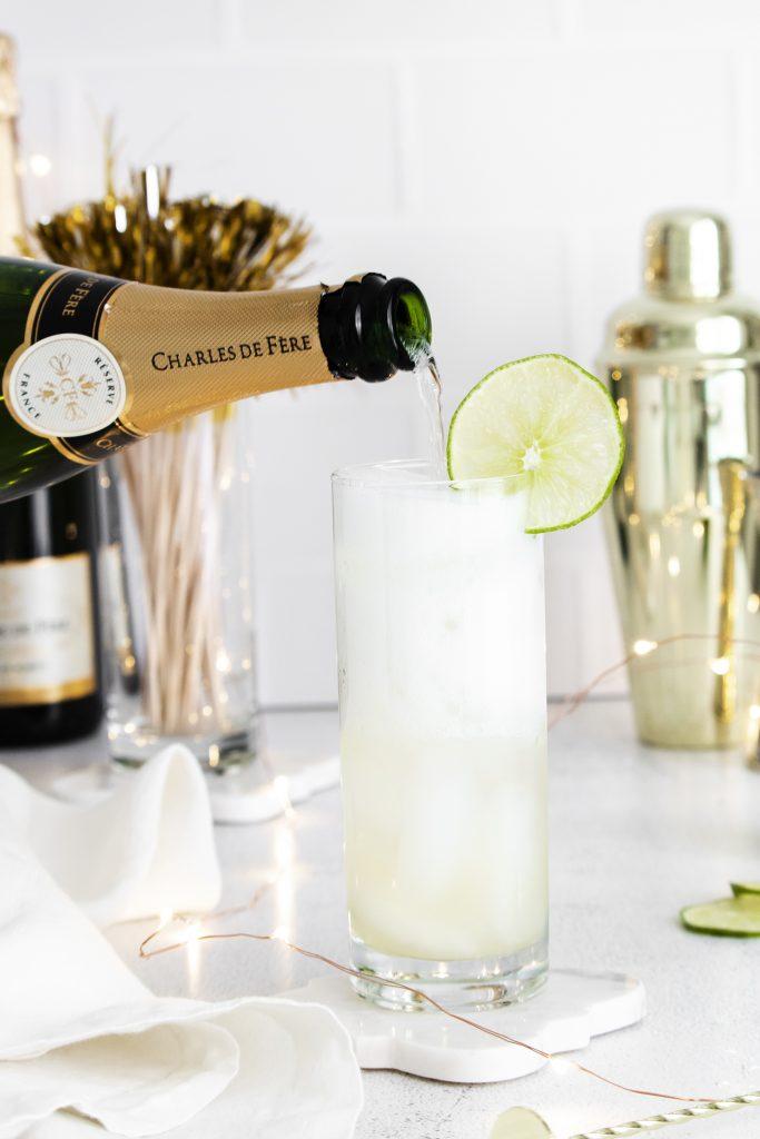 The Best Sparkling Margarita
