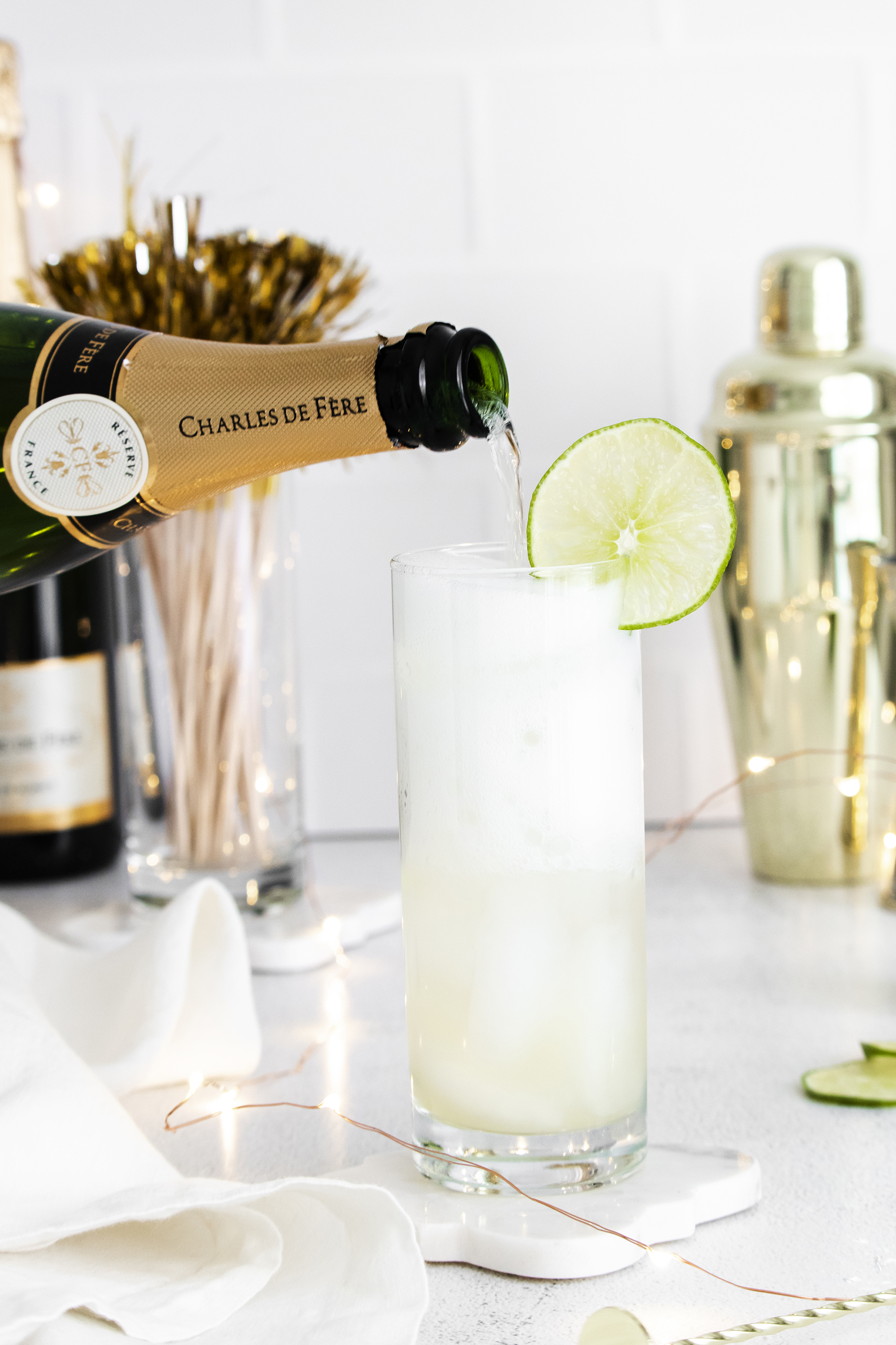 The Best Sparkling Margarita