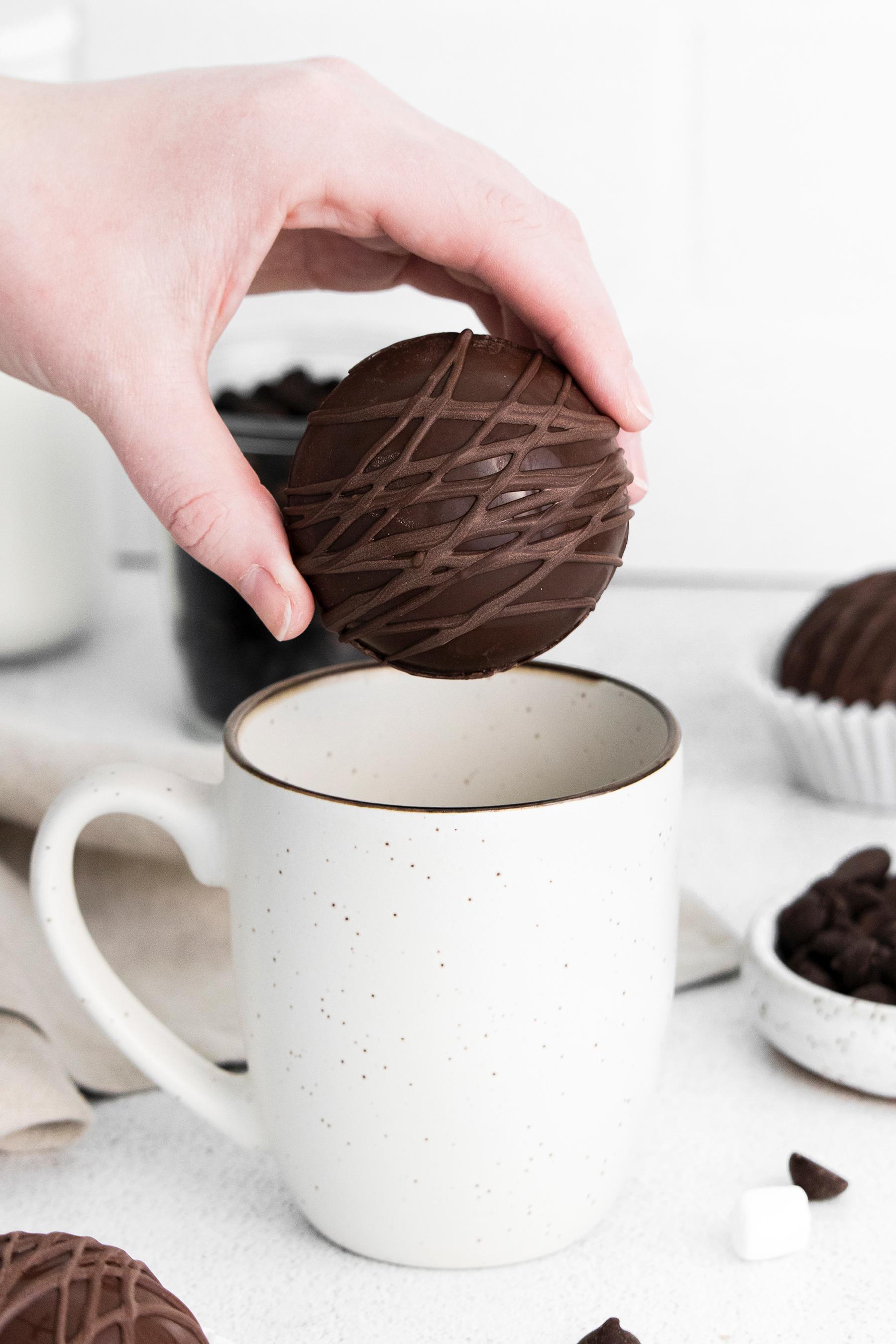 The Best Mocha Hot Chocolate Bombs